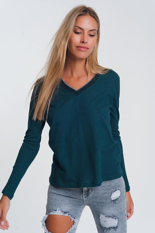 Venta al por mayor modelo de blusa en tela de algodon Compre